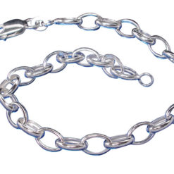 Sterling Silver 5.2mm Link Chain Bracelet