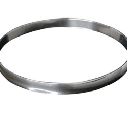 Sterling Silver 6mm Solid Golf Bangle 60mm