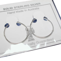 Sterling Silver 22mm Allday Jumbo Sleepers