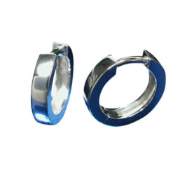 Sterling Silver 2.5x11mm Huggie Earrings