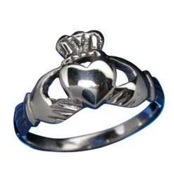 Sterling Silver 6mm Claddagh Ring