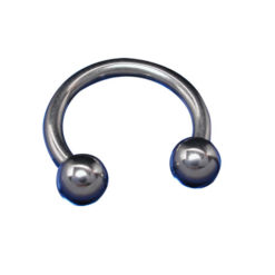 Surgical Steel Circ Barbells Ball 1.6 X 10 X 4