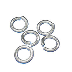 Sterling Silver 6mm Heavy Jump Ring (each)