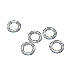 Sterling Silver 5mm Heavy Jump Ring (each)