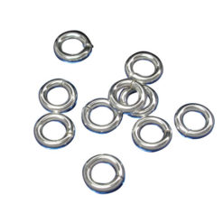 Sterling Silver 4mm Heavy Jump Ring (each)
