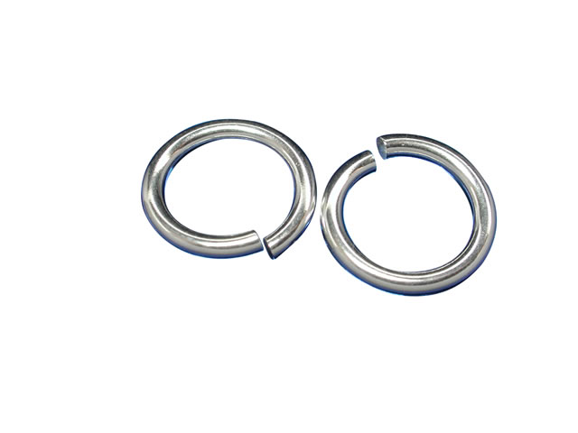 Sterling Silver 10mm Heavy Jump Ring (each)