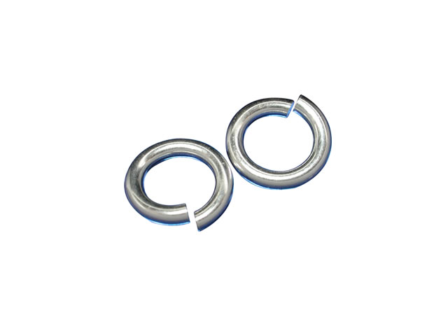 Sterling Silver 8mm Heavy Jump Ring (each)
