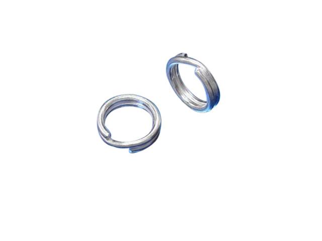 Sterling Silver 6mm Split Ring (ideal For Attaching Charms) (each)