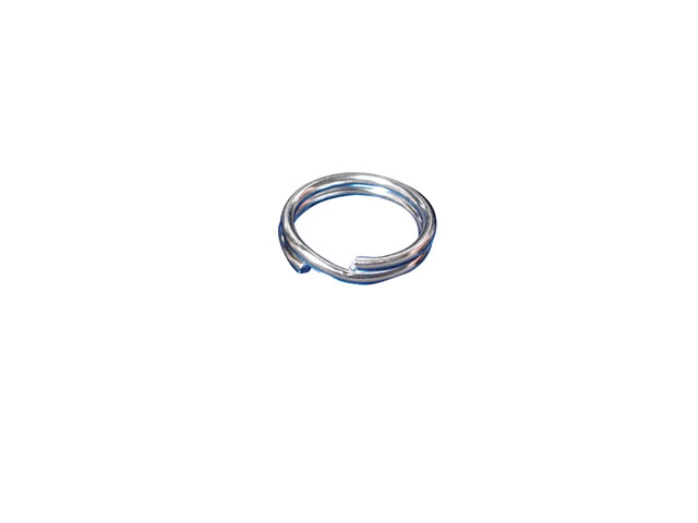 Sterling Silver 8mm Split Ring (ideal For Attaching Charms) (each)