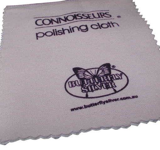 Mini Silver Jewellery Polish Cloth 140mm X 120mm