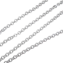 Sterling Silver 1.6mm Belcher Chain
