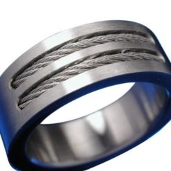 Stainless Steel 8mm Rope Centre Ring