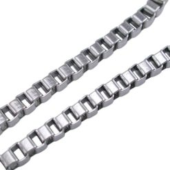 Stainless Steel 3.0mm Box Chain
