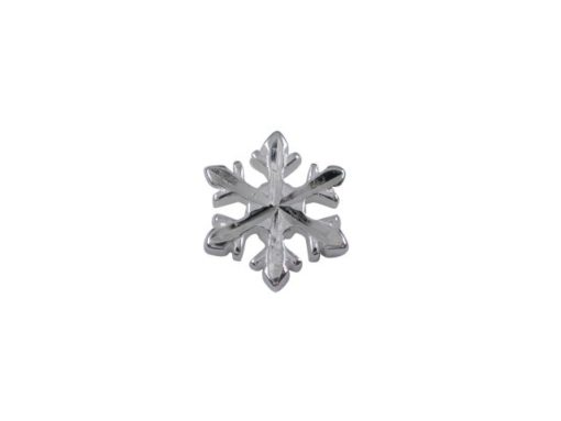Sterling Silver Snowflake Butterfly Memories Charm