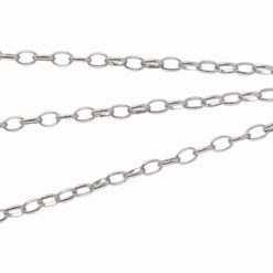 Stainless Steel 3.5mm Oval Belcher Chain