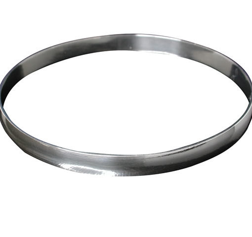 Sterling Silver 6mm Solid Golf Bangle 64mm