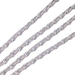 Sterling Silver 1.7mm Rope Chain