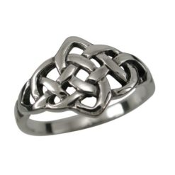 Sterling Silver 10mm Celtic Ring