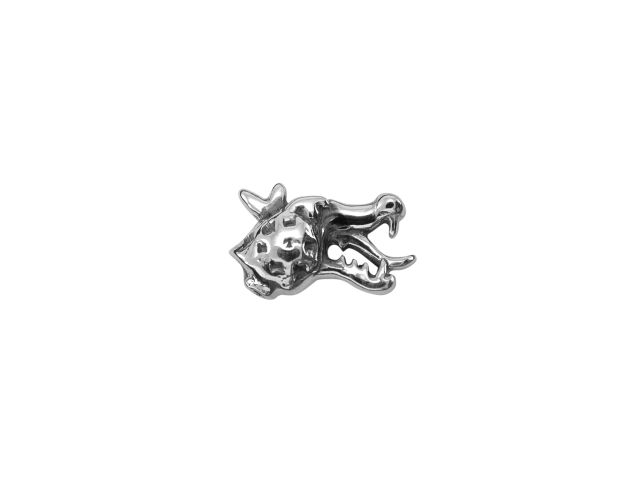 Sterling Silver Dragons Head Butterfly Memories Charm