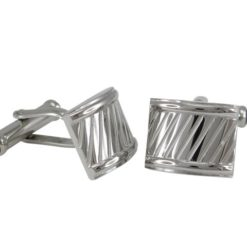 Stainless Steel 16x13mm Cuff Links