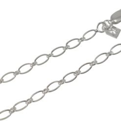 Sterling Silver 3mm Oval Link Chain