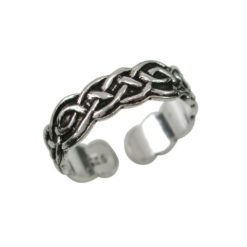 Sterling Silver 5mm Celtic Toe Ring