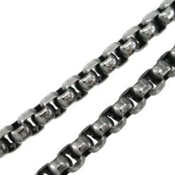 Stainless Steel 5mm Rounded Box Chain