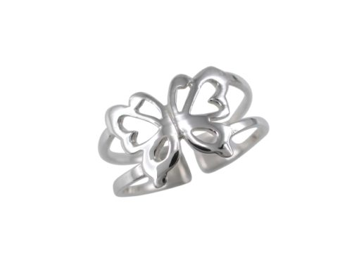 Sterling Silver 9mm Butterfly Toe Ring