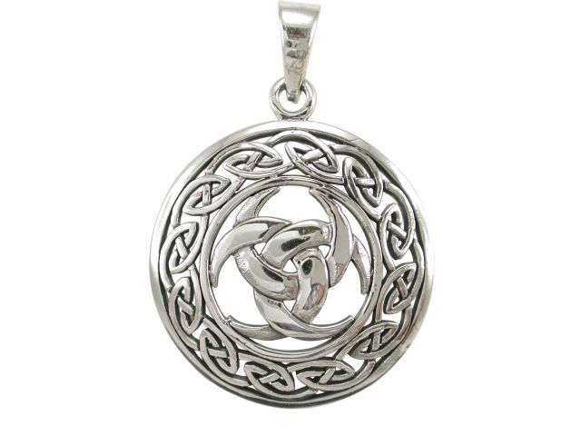silver pendant item necklace wholesale celtic knot ancient
