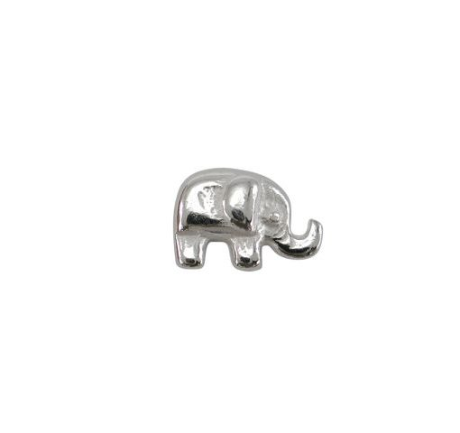 Sterling Silver Elephant Butterfly Memories Charm