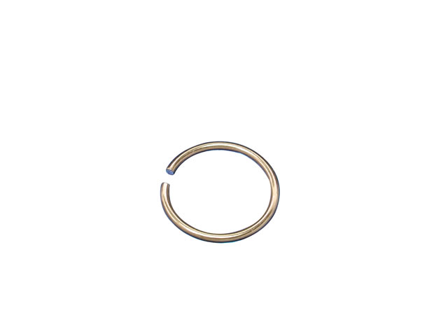 Gold Pvd Surgical Steel 0.8 X 8mm Nose Ring